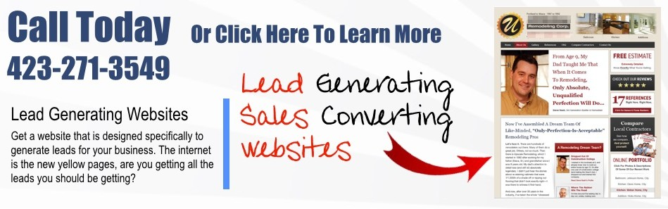 small business lead generating websites